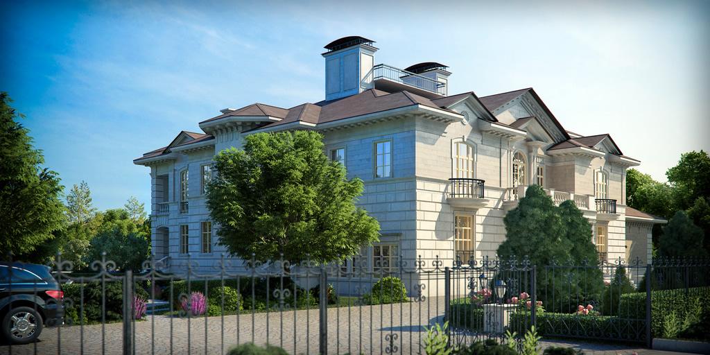 Декор фасада от РуссМолд