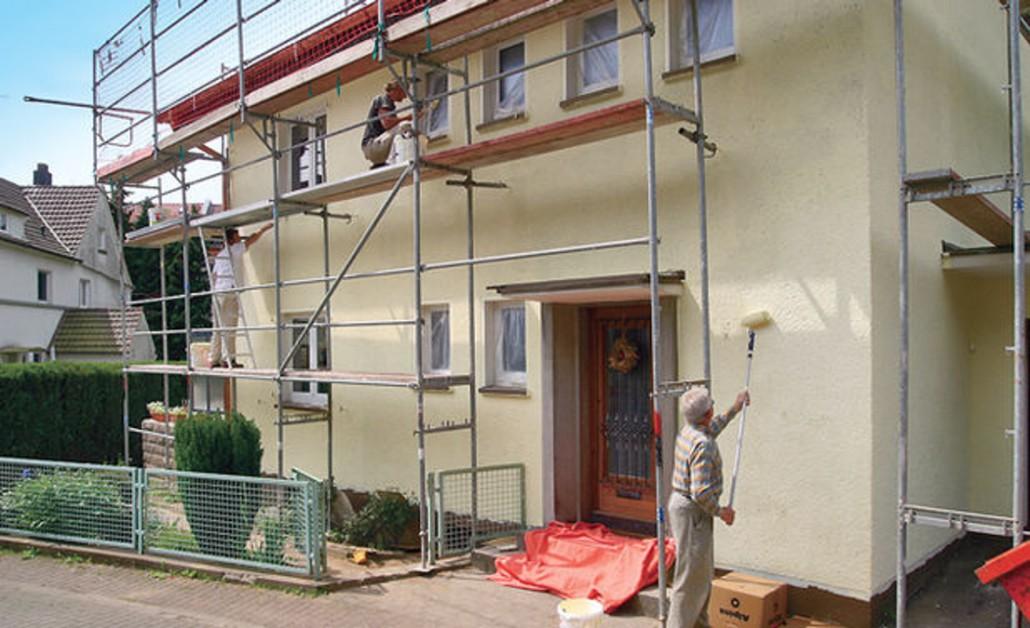 Штукатурка для фасадов
