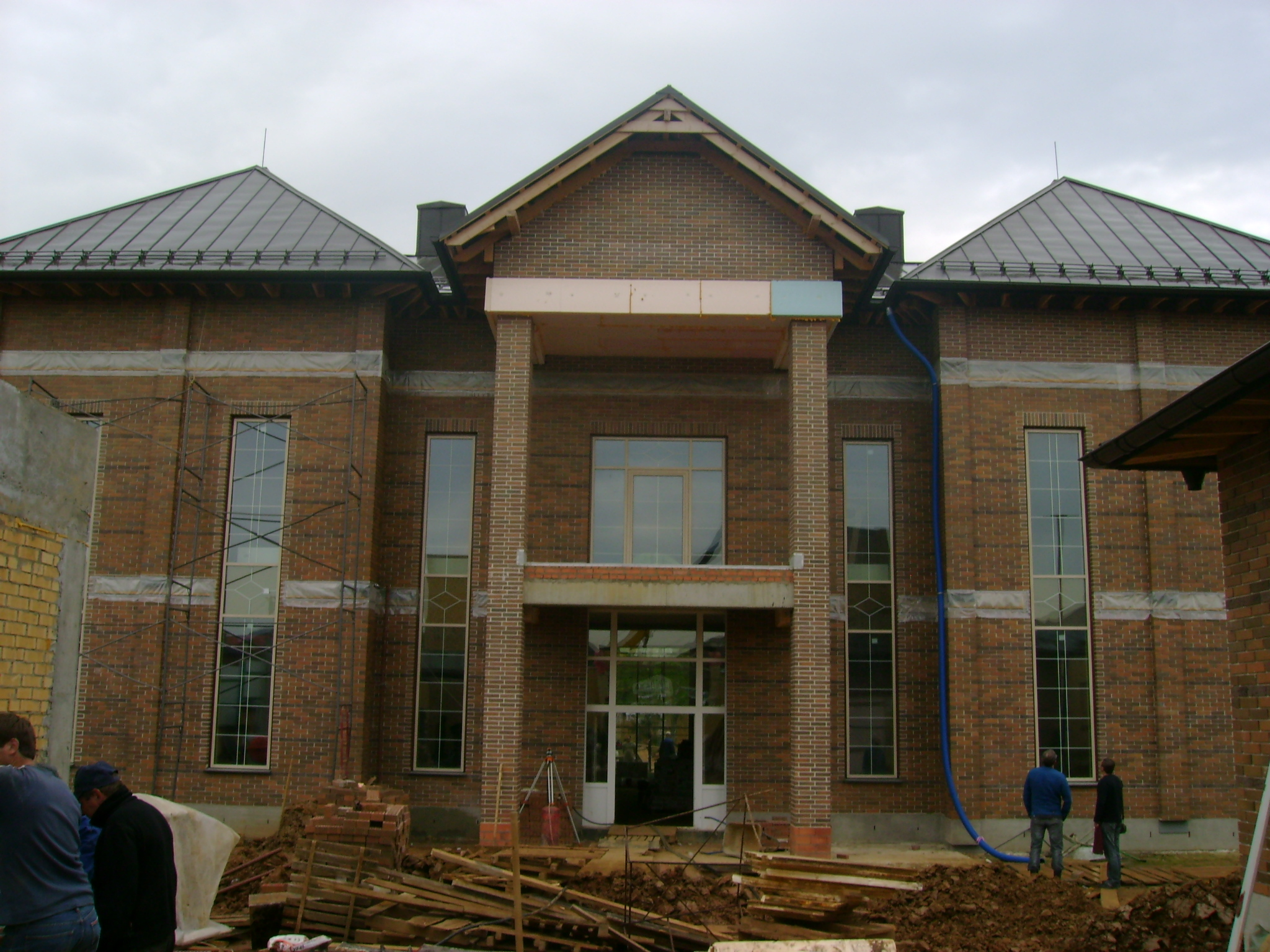 Проект производства работ на ремонт фасада образец